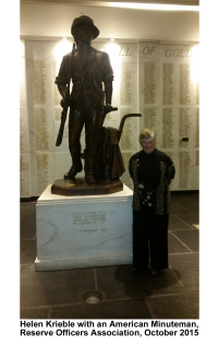 Helen and Minuteman Statue, Reserve Officers Assoc, 10.27